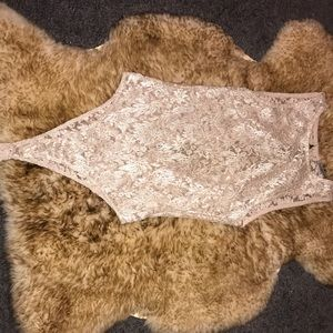 Charlotte Russe Lace Leotard